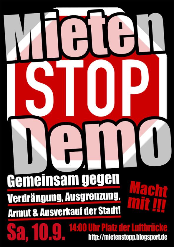 Demo 10.09.2016 Postkarte