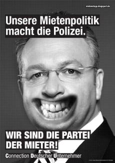 Fressen-Plakate 2013: CDU, Frank Henkel