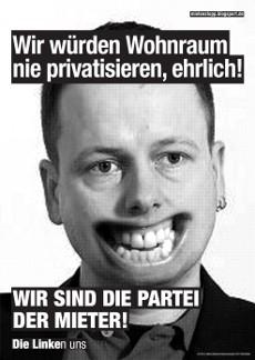Fressen-Plakate 2013: Linke, Klaus Lederer