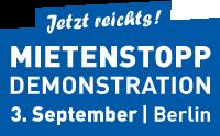 Banner Mietenstopp Demo 3.9. 200x124